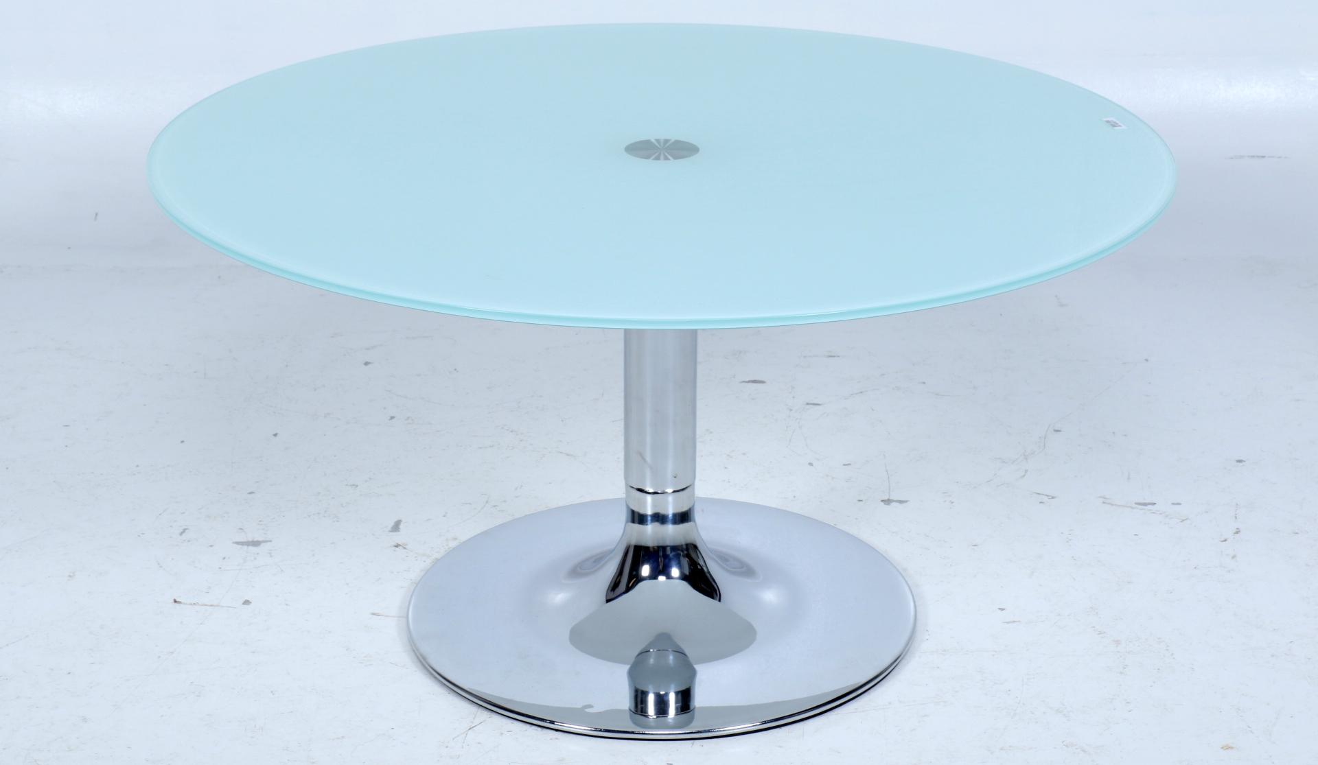 Theetafel Glas Chroom.Van Zadelhoff Veilingen Taxaties